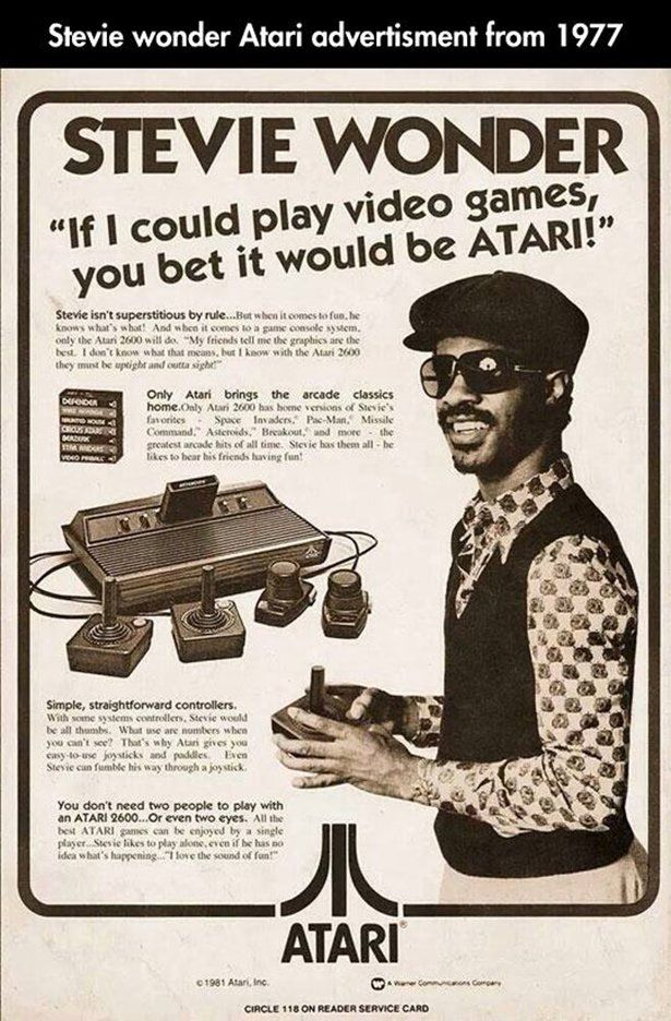 """Even Stevie can fumble his way around a joystick!""   This is THE WORST."