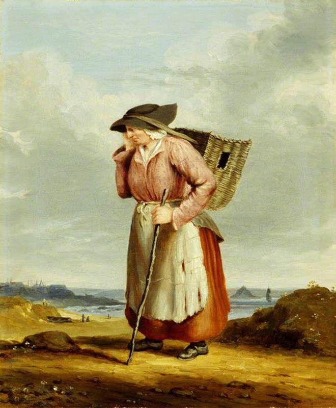 Dolly Pentreath (1685–1777) (The Last Speaker of Cornish) by Richard Thomas Pentreath