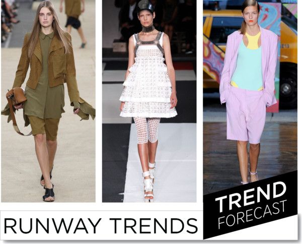 SS2014 Fashion Trend _ Bermudas  http://www.sandrascloset.com/the-most-important-ss-2014-runway-trends/