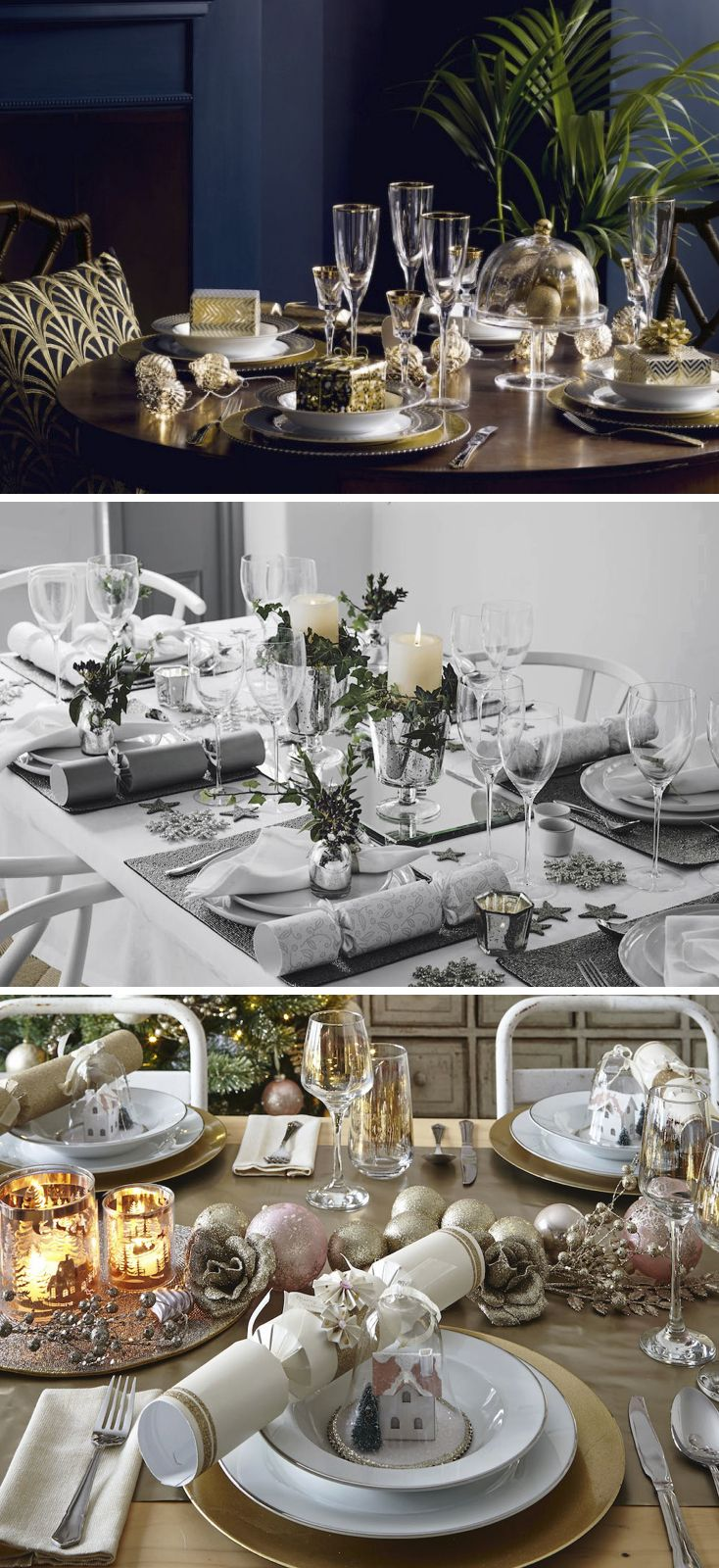 28 best images about christmas dining room ideas on for Christmas lunch table setting ideas
