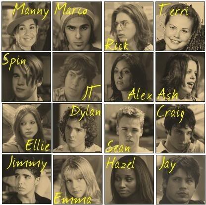 I miss the original cast of Degrassi: The Next Generation.