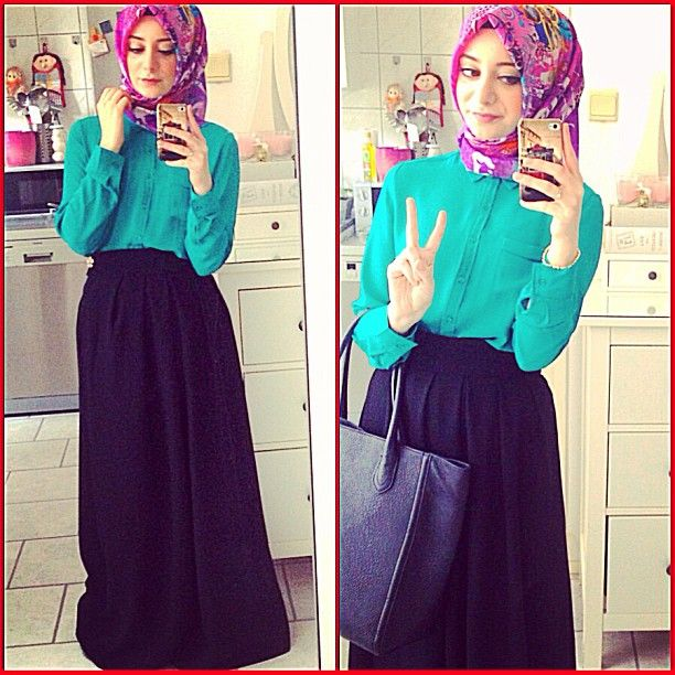 Hijab fashion by seymatje