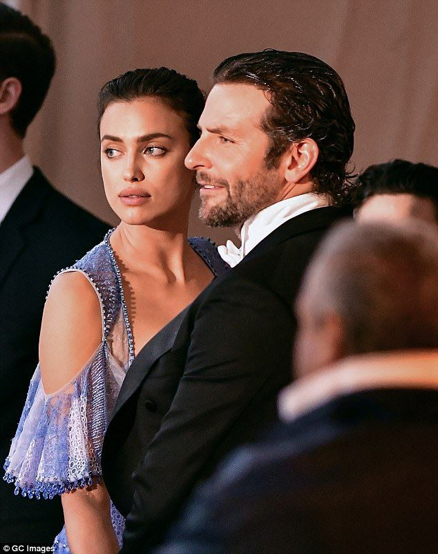 Irina Shayk celebrates the impending arrival of first baby