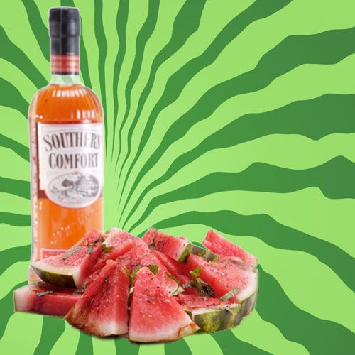 SoCo Edible Cocktail Recipe. This tasty treat is a drink you can eat! And what is more perfect for summer time fun than Watermelon!