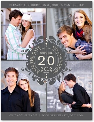 Wedding save-the-date idea ~Isabelle