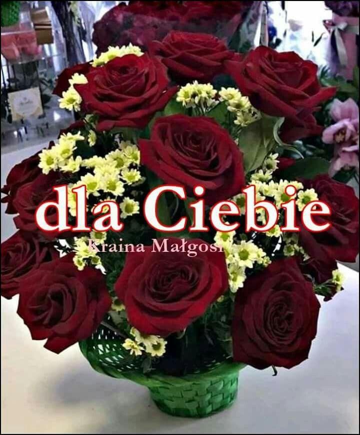 Pin By Jamajka On Dla Ciebie Flower Arrangements Flowers Rose