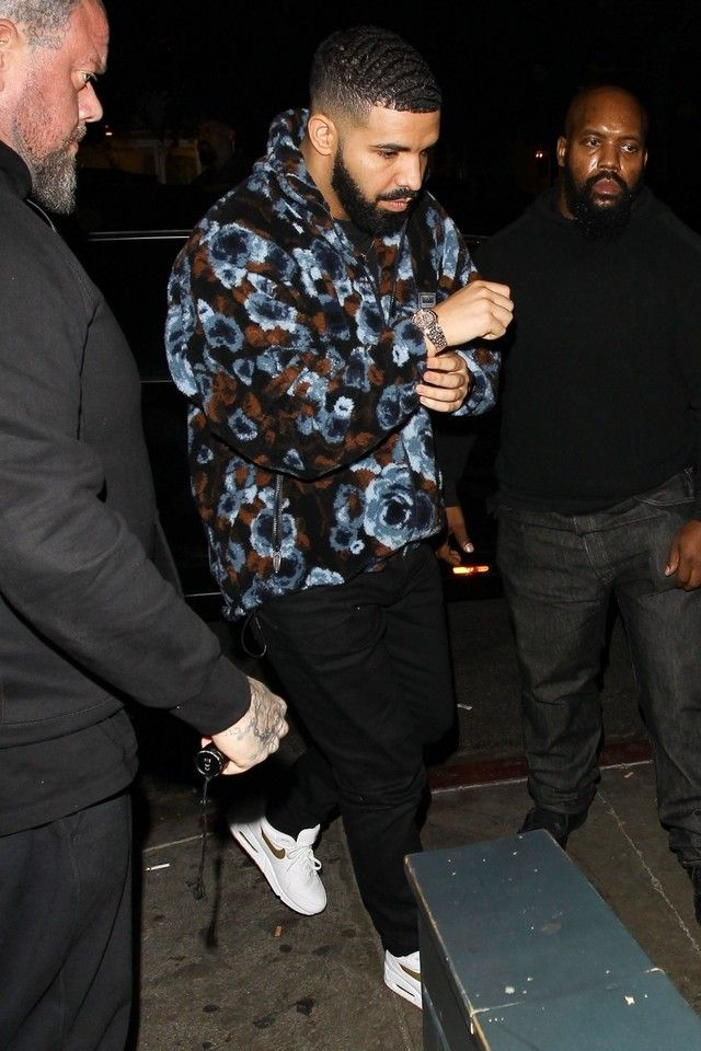 Sherpa Floral Pullover Jacket in 2019 | Drake Fashion Style