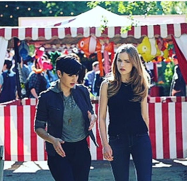 The town's annual carnival commences on Scream Season 2 Episode 8 bringing  with it drunken speeches, fist fights, and a Fun House murder.