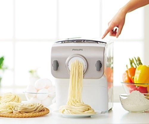 Electric Pasta Machine Automatic Mixing Kneading Dough Extruding Shaping Disc #PastaMaker #PastaMachine #Gifts