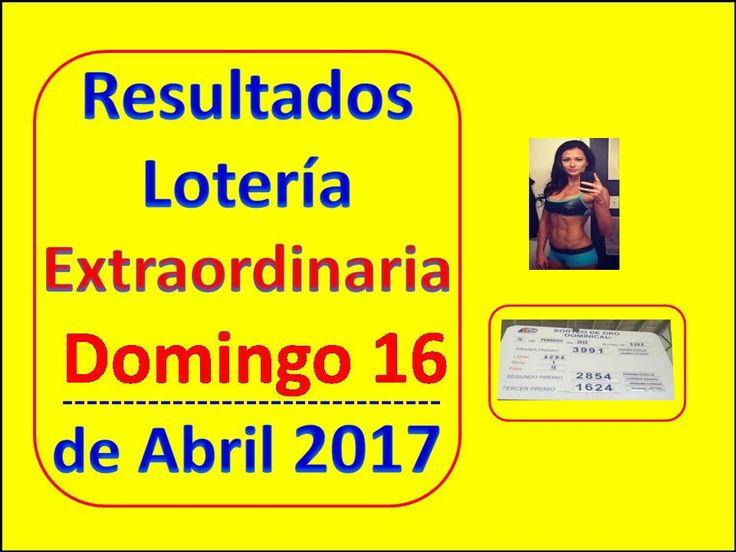 ► https://www.youtube.com/watch?v=f0oplOuDH9M ◄ Resultados Sorteo Domingo 16 de Abril de 2017 Loteria Nacional Panama Que Jugo Extraordinaria Abril