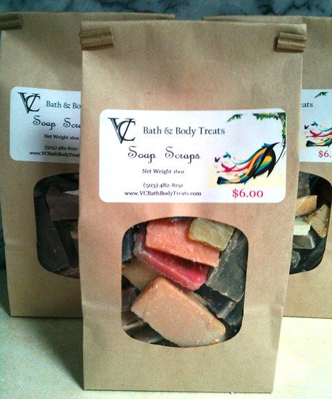SOAP SCRAPS - This bag contains an assortment of soaps that do not make the cut for the standard size of VC's bars of soaps. The bars are wonderful for soap but don't buy them thinking you will get a specific scent. 1LB