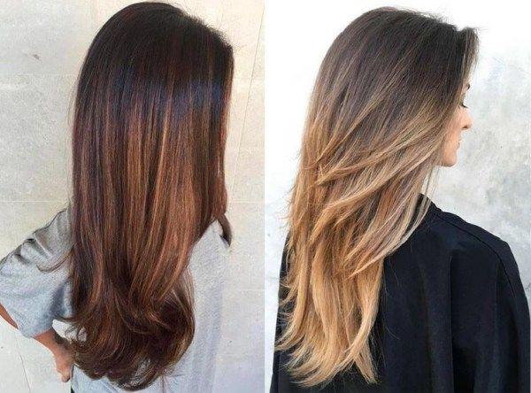 Best Haircuts For Women Fall Winter 2018 2019 Lang Haar Kapsels Lang Haar In Laagjes Haar
