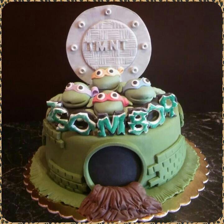 Tini ninja teknősök torta