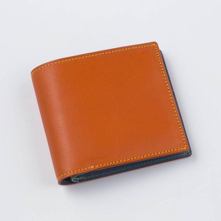 【ヤマト】2つ折り財布小銭入れ有