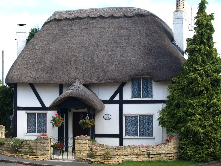 thatched roof england - Google Search