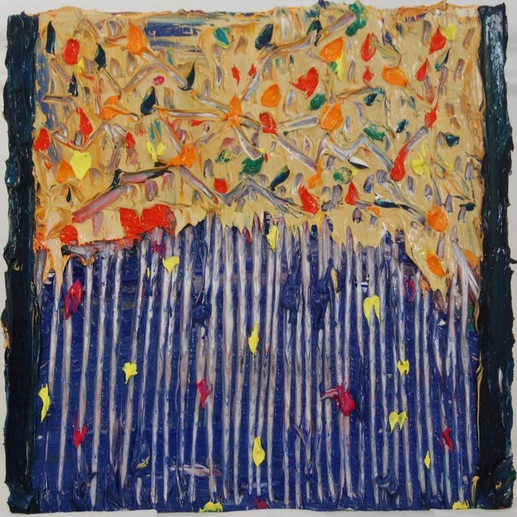 "Saatchi Online Artist: Valerie Brennan; Oil, Painting ""Spaghetti hoops"""
