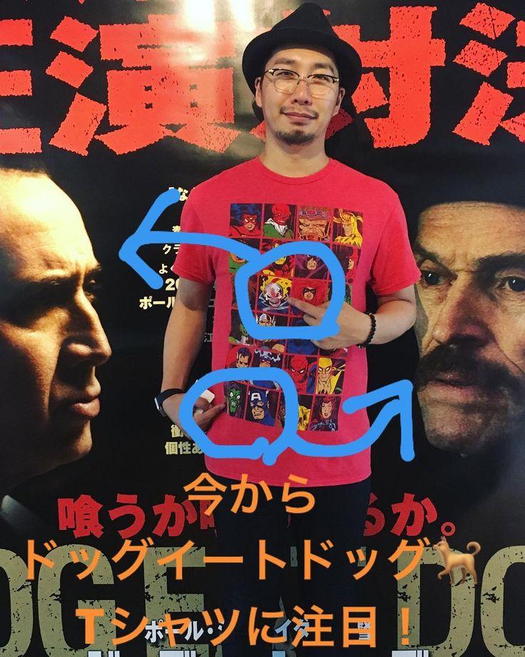 ニコラスケイジとウィレムデフォーの夢の共演ゴーストライダーvsグリーンゴブリンだからこのTシャツ笑