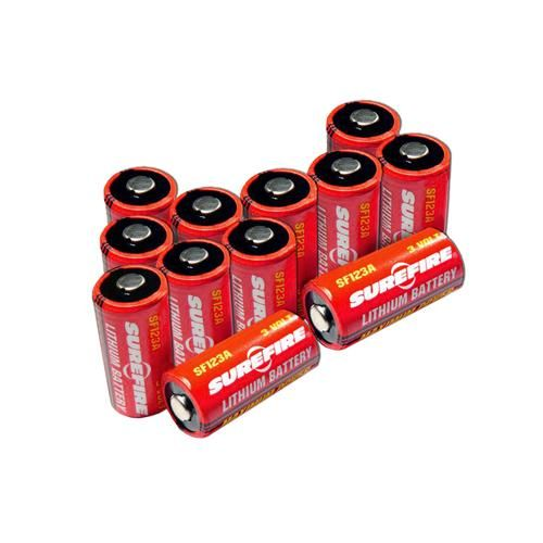 12 SF123A Batteries,Clamshell Package
