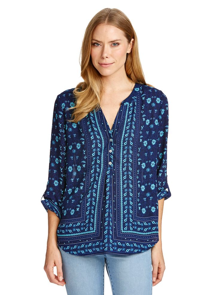 Image for Ingrid Pop Over Blouse from Just Jeans