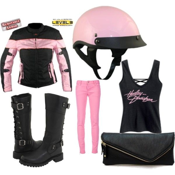 Harley Lady, created by pam-givens-vosberg on Polyvore