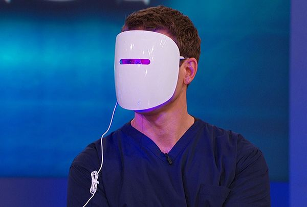 A new mask uses LED light therapy to help heal breakouts, reduce inflammation, even skin tone and prevent acne. The Doctors put it to the test.