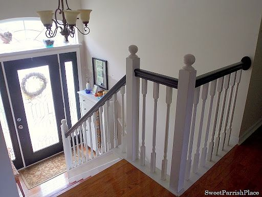17 best ideas about painted stair risers on pinterest painted steps painted stairs and stairs - Refurbish stairs budget ...