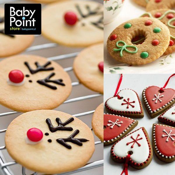 Una de las cosas más lindas de navidad es que tenemos muchas formas distintas de regalonear a nuestros seres queridos. Por ejemplo, horneando unas ricas galletitas de navidad ¡Pueden incluso hacerlas en familia! #Miammm