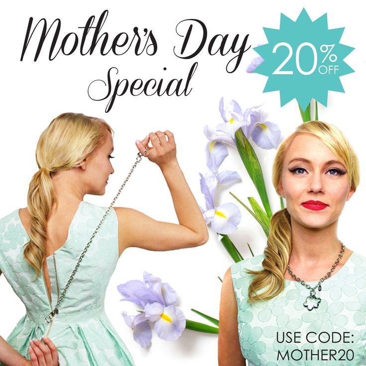 Happy Saturday! We are having a special Mother's Day sale this year! Use code MOTHER20 for 20% off your purchase!! https://www.msdressup.com/