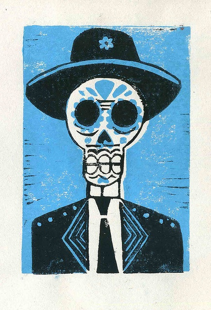 Day of the Dead by Illustration Ben