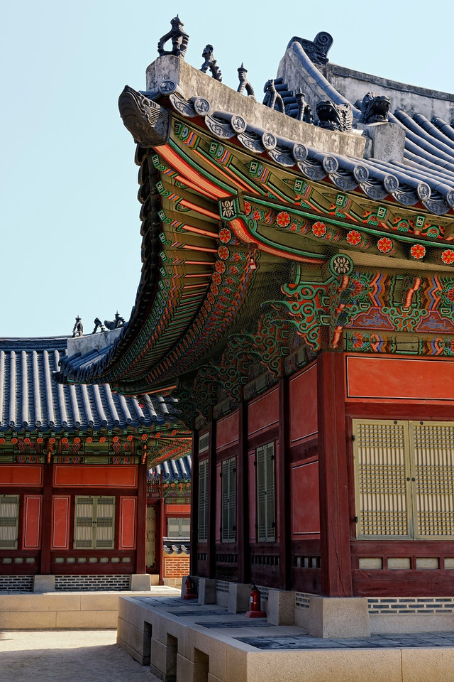Gyeongbokgung Palace (Seoul, South-Korea)(2005 and 2009 months long vacay)