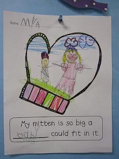 Book:  The Mitten (writing)