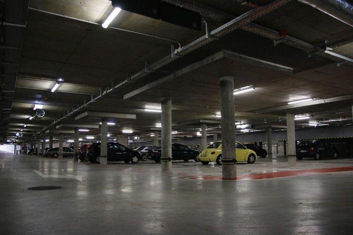 parking pod Placem Grunwaldzkim w Gdyni