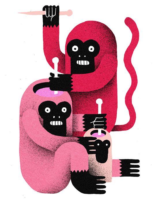 Las ilustraciones de Levi Jacobs