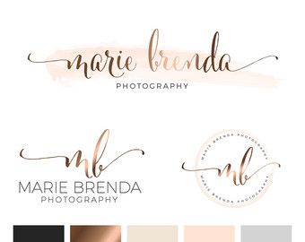 Pre made branding kits are the perfect solution to polish your brand professionally, at a super affordable price! The are perfect for photographers, interior designs, event & wedding planners, small business and boutiques, makeup artists, bloggers and more. ❥❥❥❥ WHAT IS INCLUDED IN THE PRICE ❥❥❥❥ • Update the design with your/business name • Colour change ❥❥❥❥ CHOOSE YOUR PACKAGE ❥❥❥❥ LOGO ONLY..... {top logo on board, unless otherwise requested} • Main Logo • Font Information • plus, 1…
