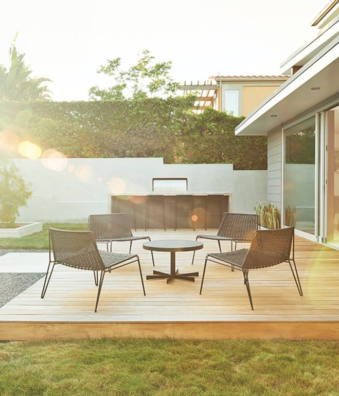 Extending The Joys Of Outdoor Living Archadeck Style: Sweet's Renovation Scheme Included Recreating The Couple's