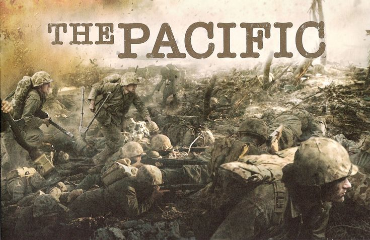 The Pacific. Not as good as Band of Brothers. But more jungles.