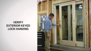 Exterior Key Lock For Sliding Door