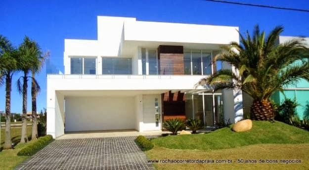 Fachadas de casas modernas casas sem telhado sobrados for Materiais para fachadas de casas modernas