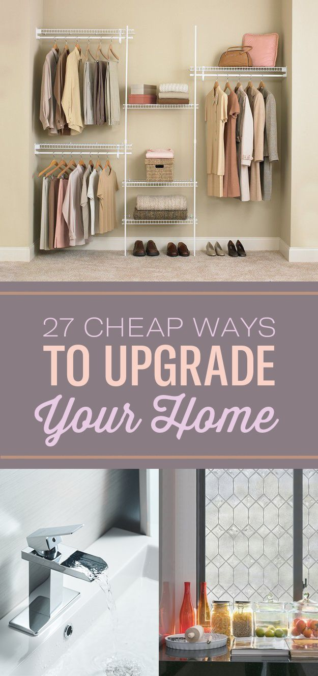 High Quality 27 Cheap Ways To Upgrade Your Home
