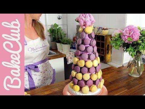 Macaron-Pyramide   Gäste@BakeClub - YouTube