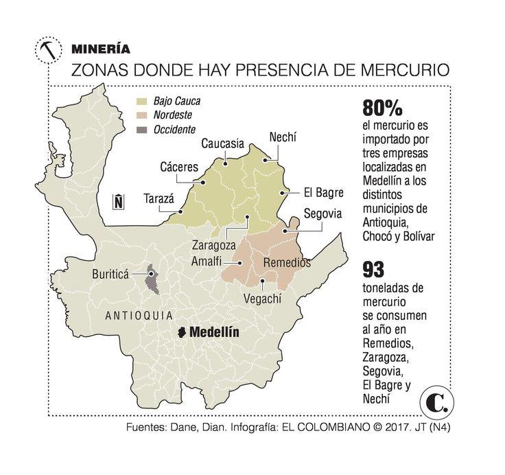 Minería: el reto es eliminar 50 toneladas de mercurio en Antioquia y Chocó