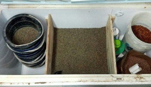 DIY Grain Storage Freezer