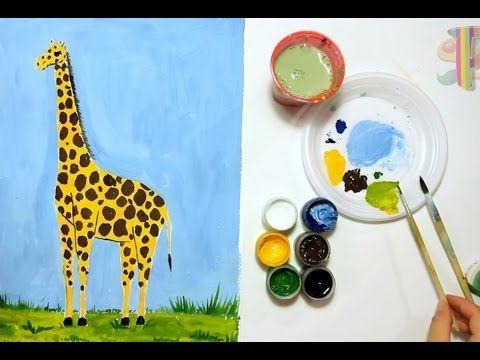 """В этом видео вы можите увидеть как легко и просто можно нарисовать """"Жирафа"""""""