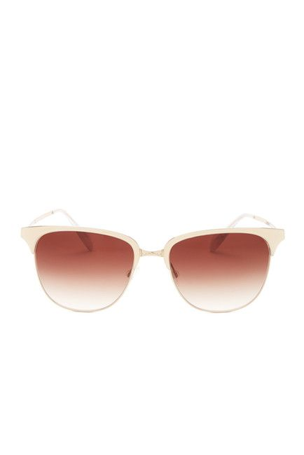 Image of OLIVER PEOPLES EYEWEAR Women's Leiana Browline Sunglasses