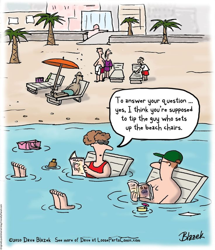 Here comes summer! (With images) | Beach cartoon, Cartoon ...