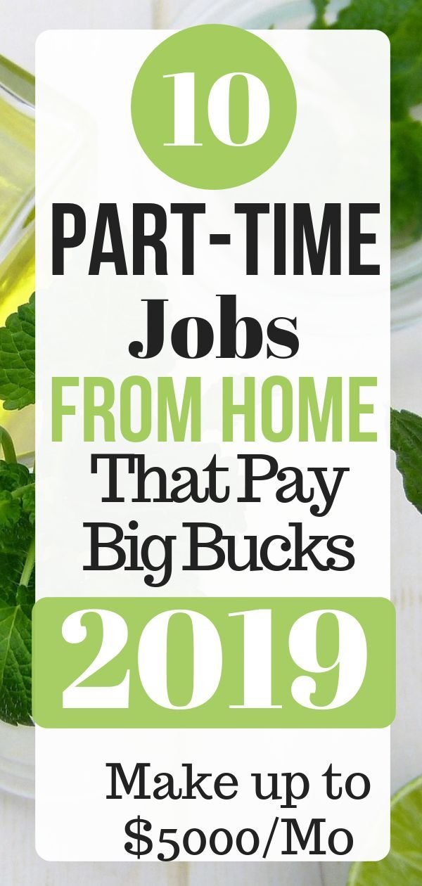 10 part time work from home jobs you can do during your free time if you want to… – Info on online business