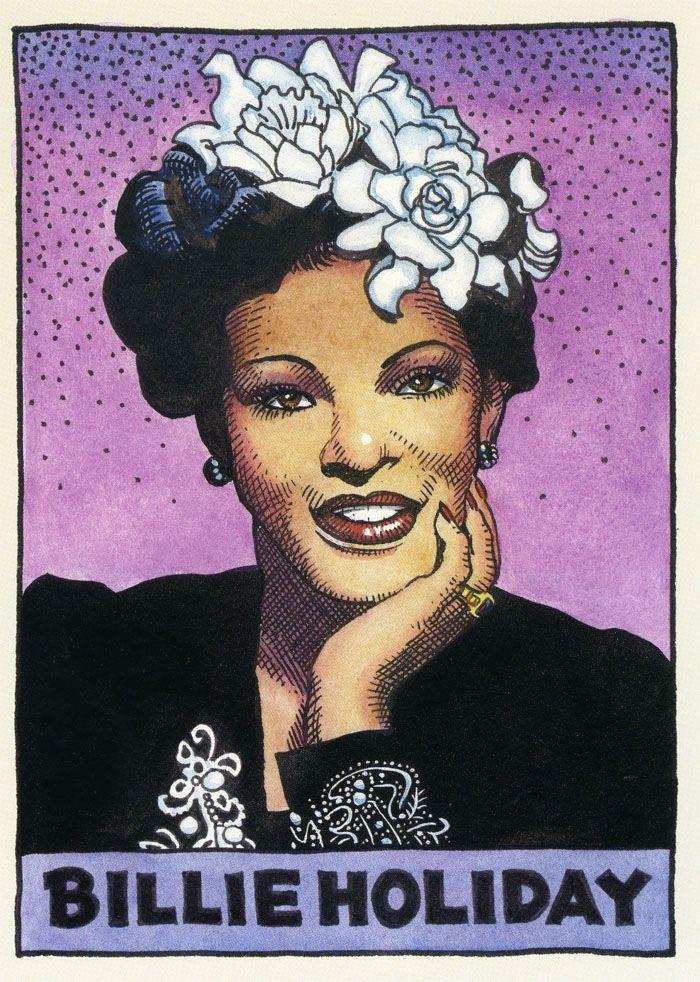 Robert Crumb - Billie Holiday