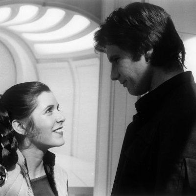 Just...  The way they look at each other.  I think that says everything.