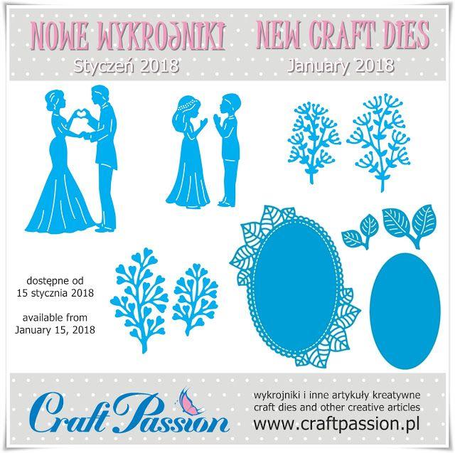Blog Craft Passion: NOWE WYKROJNIKI / NEW CRAFT DIES