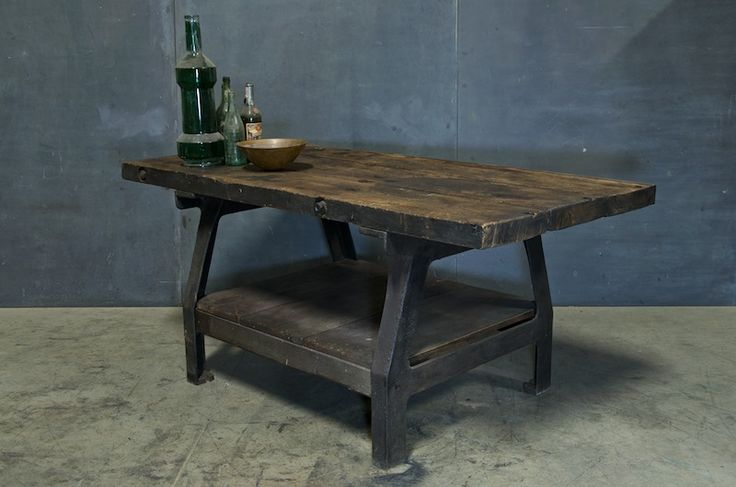 table 20th century vintage industrial aka my new dining room table